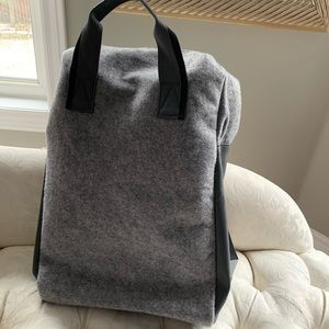 Handbags - Azzaro grey backpack